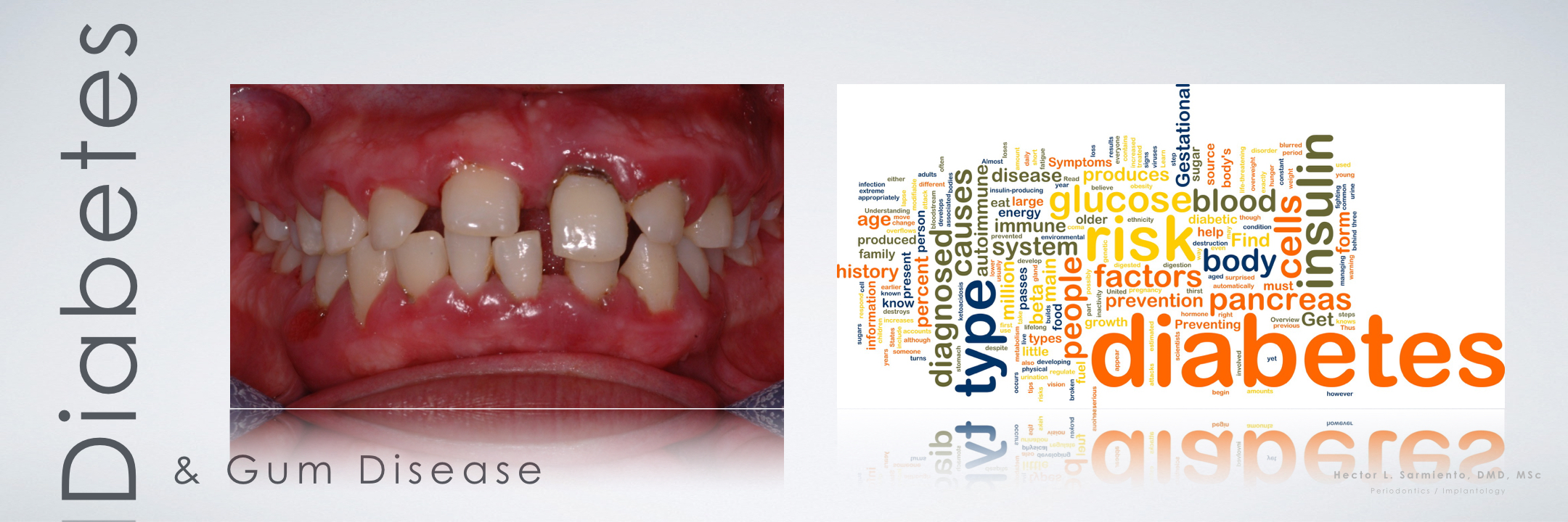 the medical studies on the relationship between gum diseases and diabetes A positive association between obesity and periodontal disease was repeatedly it will also improve knowledge on the cellular and molecular mechanisms that underpin obesity-periodontal disease relationship learn about clinical studies ages eligible for study: 30 years and.